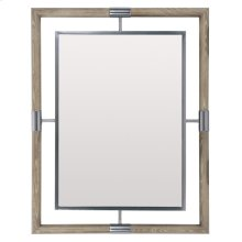 Mosaic Mirror in Dark Taupe (373)