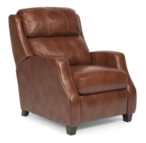 Pirouette Leather or Fabric Power High-Leg Recliner