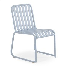 0111 Stackable Dining Chair Smoke Blue