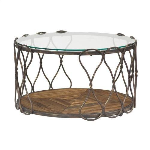 Hidden Treasures Round Cocktail Table