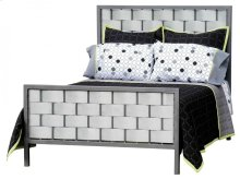 Rushton Twin Iron Bed Galvanized