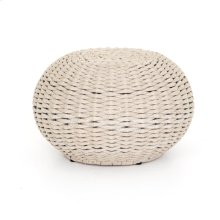 Natural Rope Finish Phoenix Outdoor Accent Stool
