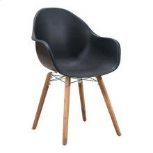 Tidal Dining Chair Black