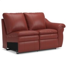 Devon Power La-Z-Time® Left-Arm Sitting Reclining Loveseat