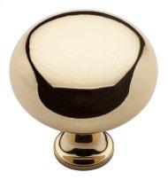 Polished Brass Classic Knob