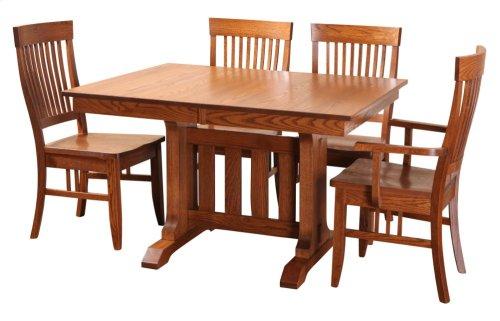 "42/48-2-12"" ""Poco"" Trestle Table Base #2"