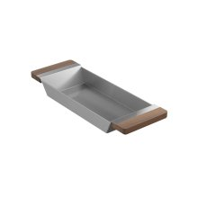 Tray 205037 - Walnut Fireclay sink accessory , Walnut