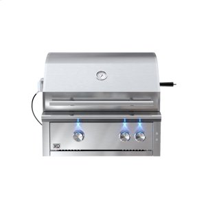 XO APPLIANCE30in Grill 2 Burner w/ Rotiss Burner LP also avail NG