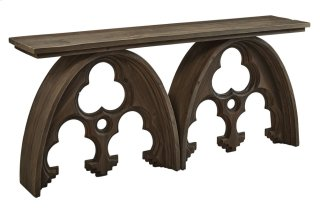 Arched Cathedral Console