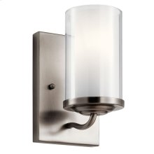 Lorin 1 Light Wall Sconce Classic Pewter
