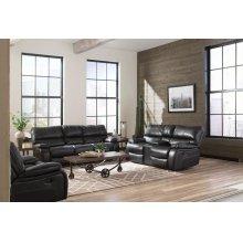 Willemse Dark Brown Reclining Two-piece Living Room Set