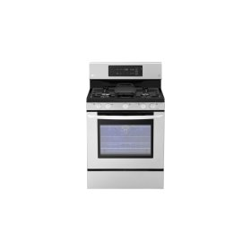 Hurry, Limited Quantity!   5.4 Cu. Ft. Capacity Gas Single Oven Range With Evenjet Fan Convection and Easyclean®