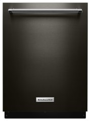 46 DBA Dishwasher with Third Level Rack - Black Stainless Product Image