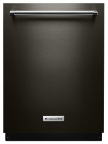 46 DBA Dishwasher with Third Level Rack and PrintShield Finish - Black Stainless Steel with PrintShield™ Finish