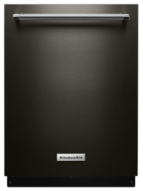 46 DBA Dishwasher with Third Level Rack and PrintShield Finish - Black Stainless