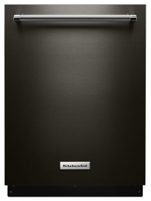 46 DBA Dishwasher with Third Level Rack and PrintShield Finish - Black Stainless Product Image