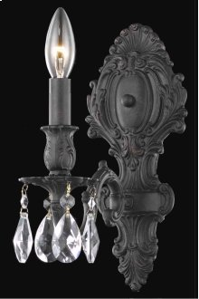8601 Monarch Collection Wall Sconce Dark Bronze Finish
