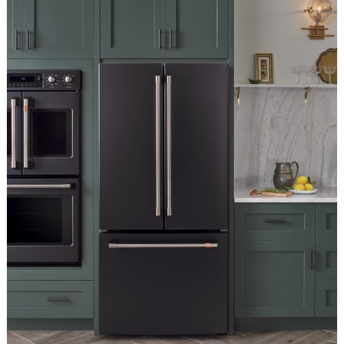 ENERGY STAR® 18.6 CU.FT. COUNTER DEPTH FRENCH DOOR REFRIGERATOR W/ FACTORY INSTALLED ICEMAKER
