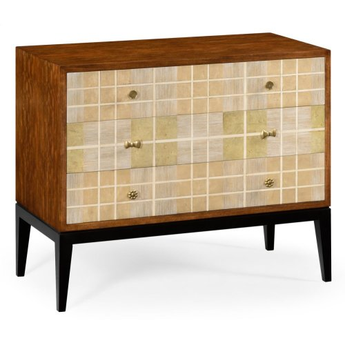 Pale Tartan Chest of Drawers
