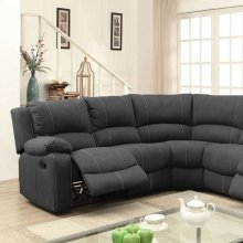 Monique Sectional (2 Recliners, 2 Drop-down Tables)
