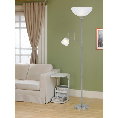100W Tr LP W/60W Reading Lamp