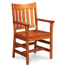 Grant II Arm Chair, Fabric Cushion Seat