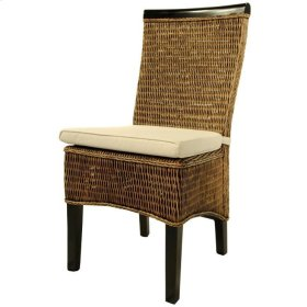 Melly Side Chair, Mahogany