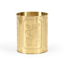Brass Waste Basket