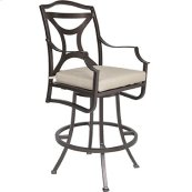 Swivel Bar Stool W/ Arms