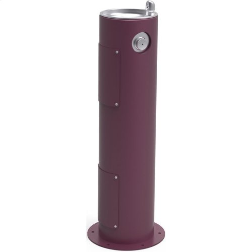 Elkay Outdoor Fountain Pedestal Non-Filtered, Non-Refrigerated Purple