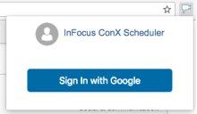 ConX Google Calendar Extension