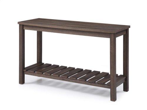 Sofa Table-dk Brown Wood Rta