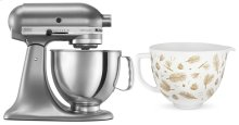 Exclusive Holiday Stand Mixer Bundle - Contour Silver