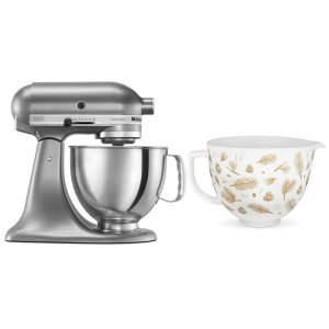 KitchenaidExclusive Holiday Stand Mixer Bundle - Contour Silver