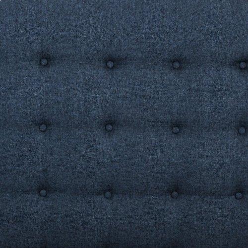 "Queen Size Indigo Cover Jefferson Bed - 60"""