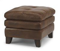 South Street Leather Ottoman Product Image