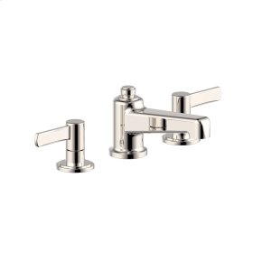 Polished Nickel Wallace (Series 15) Widespread Lavatory Faucet