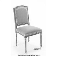 Louis Xvi Sq Side Chair Frame,Leather