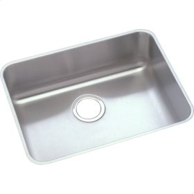 "Elkay Lustertone Classic Stainless Steel 21-1/2"" x 18-1/2"" x 10"", Single Bowl Undermount Sink Kit"