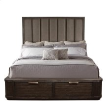 Precision Queen/King Bed Rails Umber finish