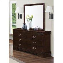 Louis Philippe Six-drawer Dresser