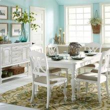 5 Piece Rectangular Table Set