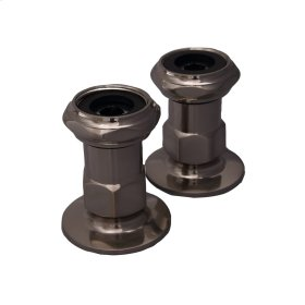 "Wall MountCoupler - 1-3/4"" - Oil Rubbed Bronze"