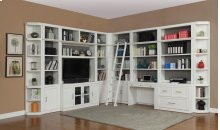 "56"" Bookcase TV Hutch"