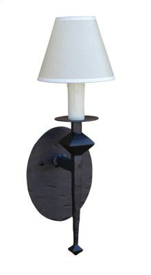 Forest Hill Iron Single Wall Sconce