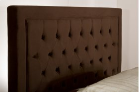 Kaylie Queen Headboard - Chocolate
