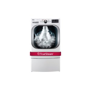 9.0 cu. ft. Mega Capacity Gas Dryer w/ Steam Technology - WHITE