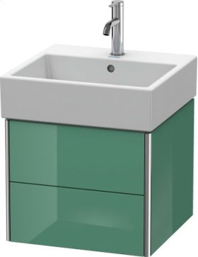Vanity Unit Wall-mounted, Jade High Gloss Lacquer