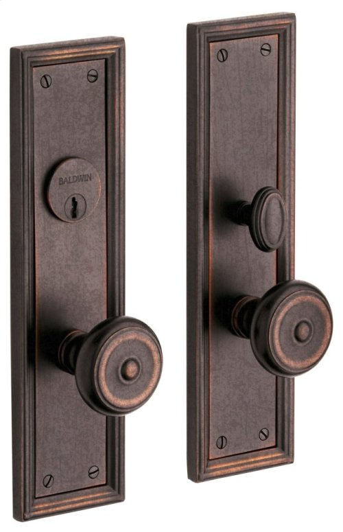 Distressed Venetian Bronze Nashville Entrance Trim