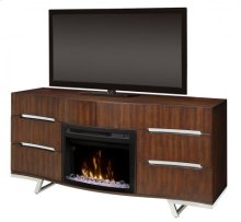 Valentina Media Console Electric Fireplace